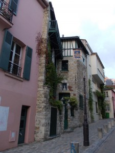 Старые кварталы Парижа 19 века, красота!